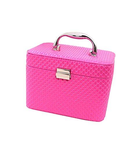 Borse personalizzate Cosmetic cassa della borsa portatile di grande capienza (con lo specchio) pratico ( colore : # 2 )