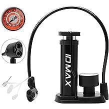 Bomba de Bicicleta, ID MAX Portátil Mini Bicicleta Bomba pie Activada Inflador Bomba de Neumáticos