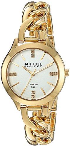 August Steiner Reloj con movimiento cuarzo japonés Woman  33.5 mm