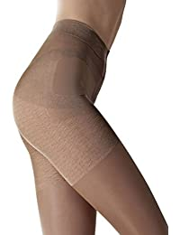 Press-Up Tights FIORE 40 Denier Den Push-up Shaping Bum uplift your bottom