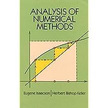 Analysis of Numerical Methods (Dover Books on Mathematics)