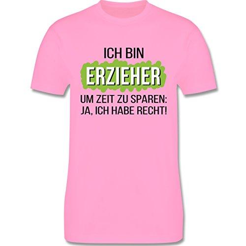 Sonstige Berufe - Erzieher - Herren Premium T-Shirt Rosa