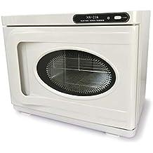 Crisnails® 2 en 1 Esterilizador estetica 8L Calentador de Toallas UV Esterilizador Gabinete de Belleza