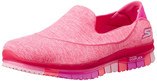 Skechers 14010 - Botines de Lona Mujer, Color Rosa, Talla 37 EU