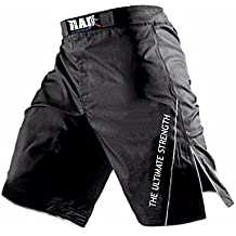 Pantalones cortos MMA para lucha, boxeo, artes marciales, kick boxing, muay thai, de Rad , Small
