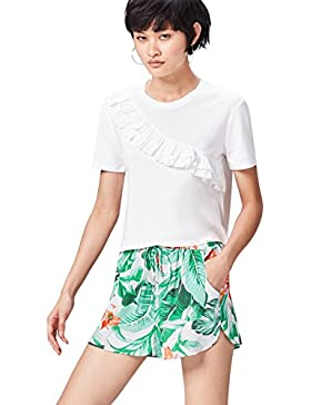 FIND Shorts Stampa Tropicale Donna
