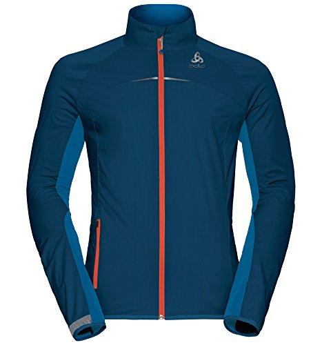 Odlo Herren Jacket ZEROWEIGHT Logic Jacken, Opal-Mykonos Blue, XL