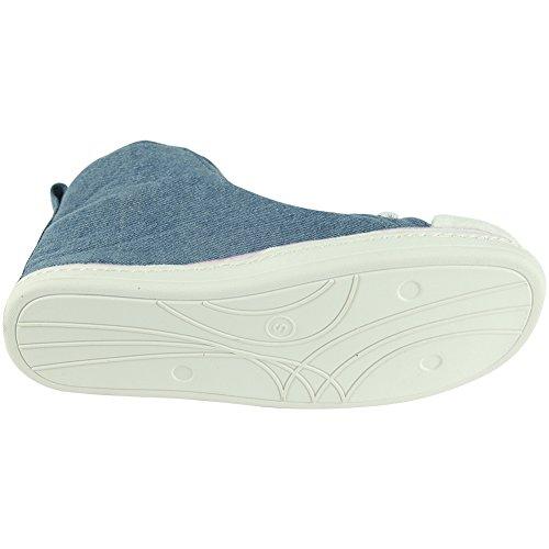 Gohom, Pantofole uomo Jean Blue