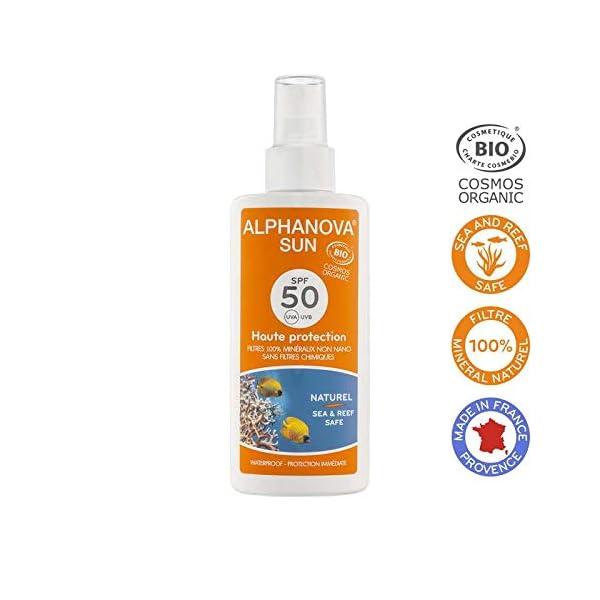 Alphanova – Crema de protección solar (factor de protección 50, 125g)