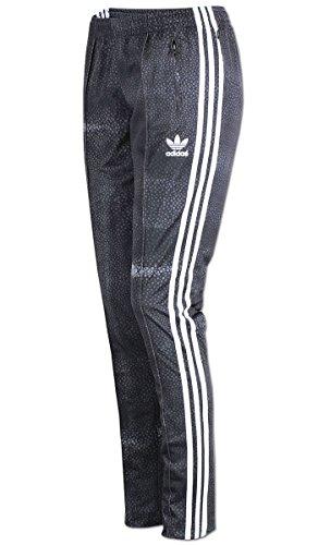 adidas M Moon Sgirl TP-Damen Hose, Grau/Weiß 36 grau/weiß -