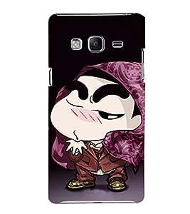 EPICCASE Cool Shin chan Mobile Back Case Cover For Samsung Tizen Z3 (Designer Case)