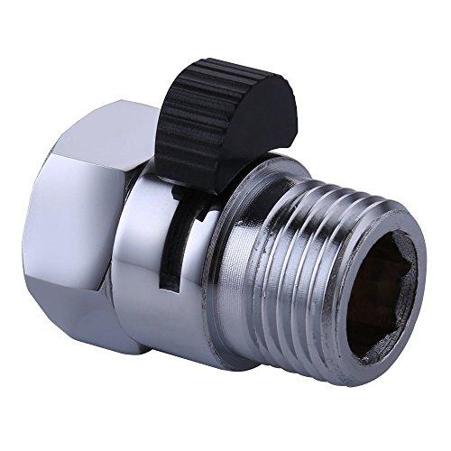 Ventil K1140B4 aus Messing von Brass, zur Kontrolle über die Wasserzufuhr/-druck, Universal-Ersatzteil, poliertes Chrom