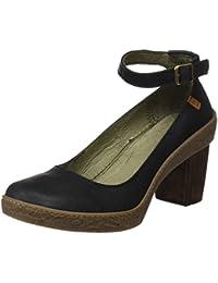 El Naturalista Nf76 Pleasant Lichen, Chaussures avec Bride à la Cheville Femme