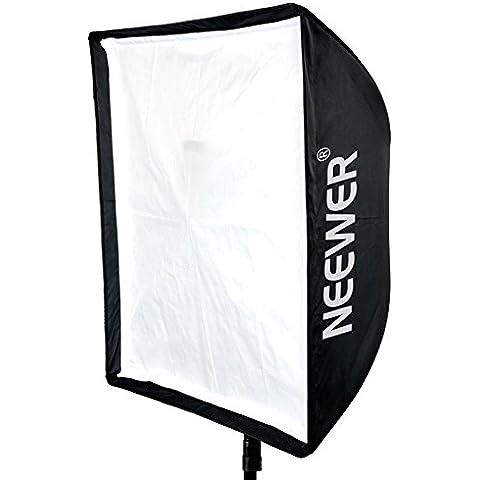Neewer 70x 70cm Speedlite Studio flash y paraguas Caja de luz con bolsa para retrato o fotografía de producto