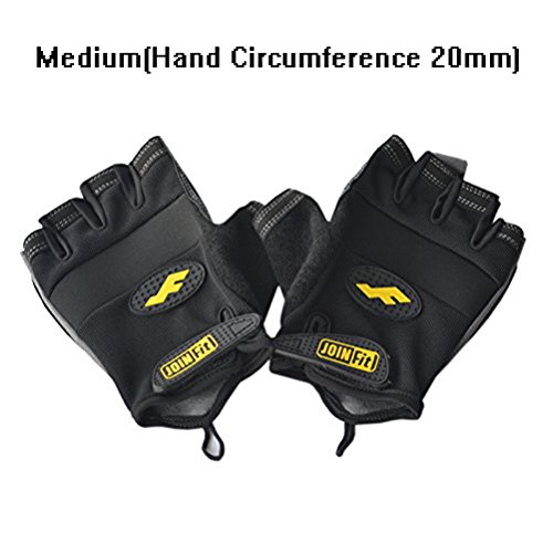 Stark Weightlifting Gloves - Bodybuilding, Crossfit, Workout Gloves for Men & Women - Cross Training Gloves 2 Pairs Medium(2 Pair)