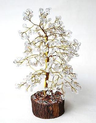 Kristall-Quarz-Baum-geistiger Feng Shui Reiki heilenden Stein-Tabellen-Dekor