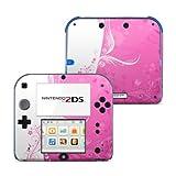 Nintendo 2DS Skin Aufkleber Schutzfolie Design Sticker Set - Pink Crush