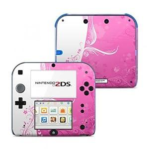 Nintendo 2DS Skin Aufkleber Schutzfolie Design Sticker Set – Pink Crush