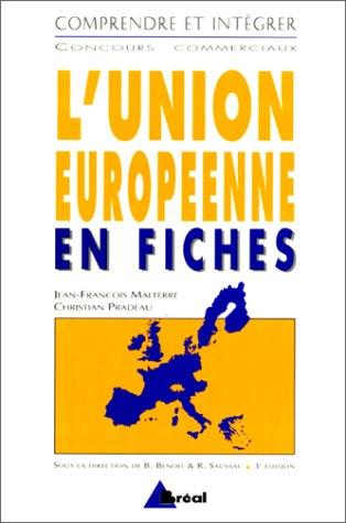 L'Union européenne en fiches par Jean-François Malterre
