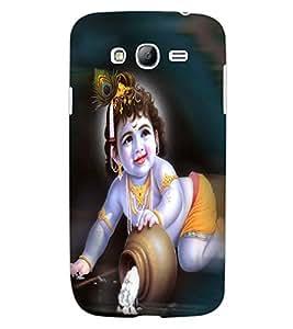 ColourCraft Lord Krishna Design Back Case Cover for SAMSUNG GALAXY GRAND NEO PLUS I9060I