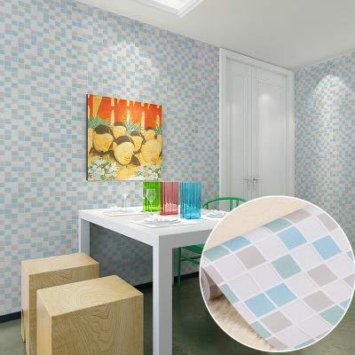 Küche Bad Bad Wandaufkleber Wasserdicht Mosaik Fliesen Schlafsaal Tapete Selbstklebende Dekoration Tapete D 1M