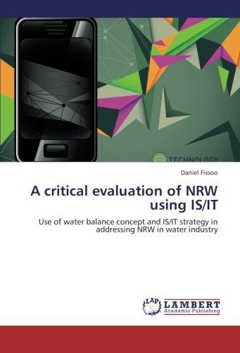 A critical evaluation of NRW using IS/IT por Fissoo Daniel