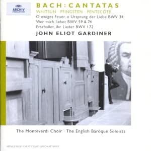 Cantates BWV 172, BWV 74, BWV 59, BWV 34