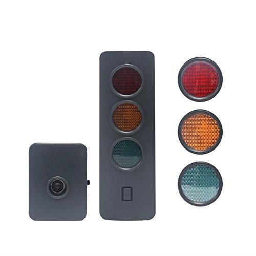 Wisamic Auto Garage Lichtsignal Einparkhilfe Sensorsystem Rückfahrhilfe hochwertige Sensoren-Technik | schnelle Signalverarbeitung / genaue Erfassung - Sensor Garage Licht