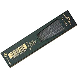 Faber-Castell 127102 - Minas para portaminas (2B, 2 mm, 10 unidades)
