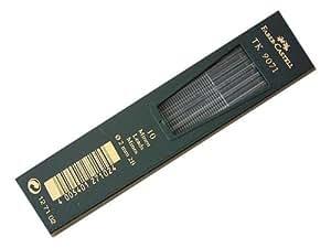 Faber-Castell 127102 Mines TK 9071 2 mm; dureté: 2B, 10x