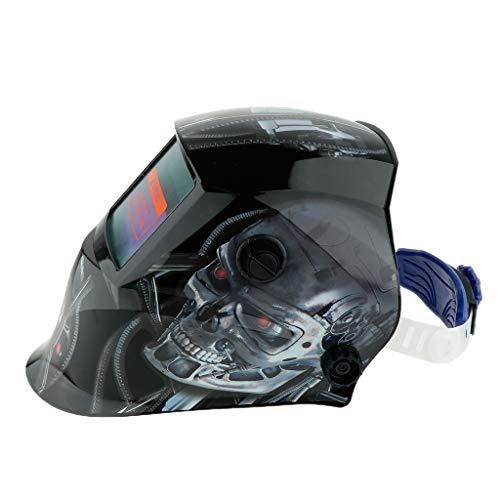 Homyl Casque De Soudure Masque Automatique à Ossature Machine de Soudage Arc Tig Mig - Robot en métal