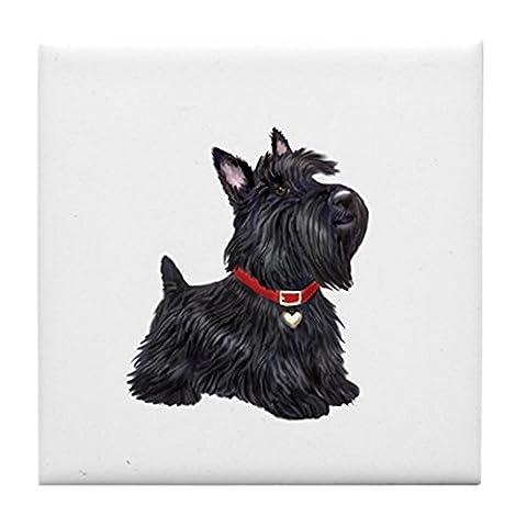 CafePress–Scottish Terrier # 2–Tile Untersetzer, Drink Untersetzer, Untersetzer, Klein