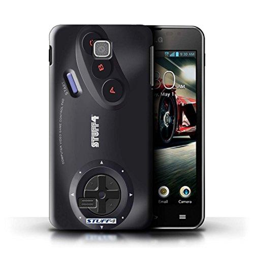 Kobalt® Imprimé Etui / Coque pour LG Optimus F5/P875 / Xbox conception / Série Console (jeux vidéo) Sega Megadrive