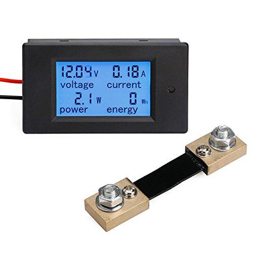 drokr-digital-multimeter-dc-65-100v-100a-voltage-amperage-power-energy-meter-dc-volt-amp-testing-gau