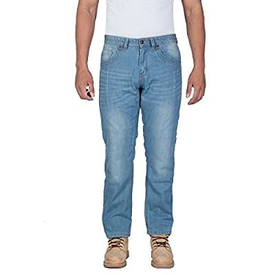 OneDayMore Spantik Straight Fit Aramid Lined Motorcycle Jeans, Free Armours.