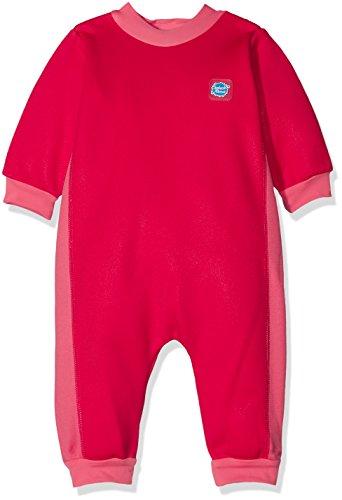 Splash About Baby Ganzkörper Schwimmanzug, Pink Geranium, 6-12 Monate (Herstellergröße: L)