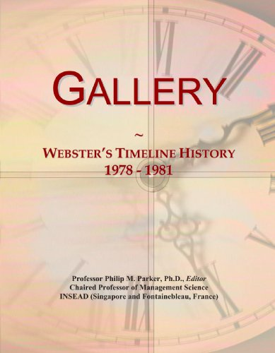 Gallery: Webster's Timeline History, 1978-1981