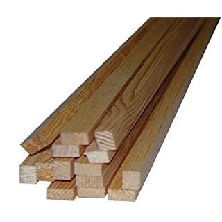 Thunderbird Forest Parting Bead 1/2 X 3/4 X 8 ' Solid Pine Bulk by ALEXANDRIA MOULDING