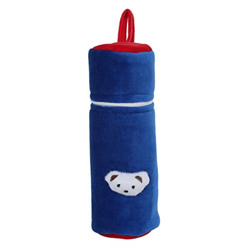 Littly Baby Bottle Cover (Blue)