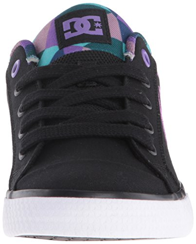 DC Scarpe da donna Chelsea TX SE J SHOE Win Low-Top Sneaker Black/Purple