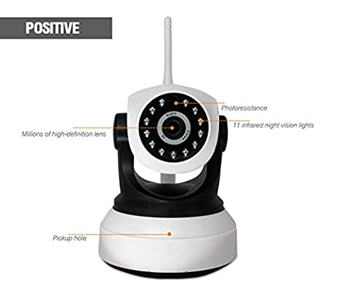 TY-X7200-MJ36 Security Camera, 720P, 3.6mm Lens, Wireless Alarm System, Dome Camera, Network P2P WIFI IP Camera, HD Wireless IP