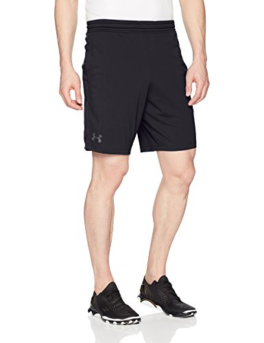 Under Armour, RAID 8in1Shorts BLACK/STEALTH GRAY
