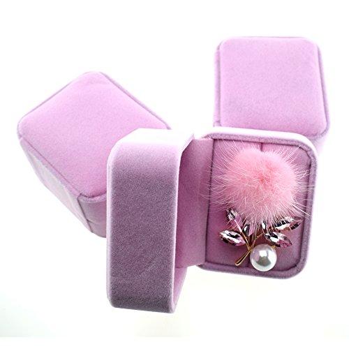 Femme Bijoux Cadeaux, strass incrustés, Hairball, perle Fashion Brooch.
