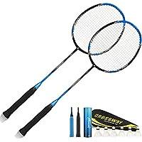 WINOMO Federball Badminton Saiten elastische geflochtene Schnur Linien f/ür Badmintonschl/äger