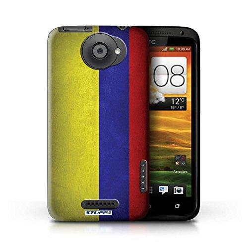 Kobalt® Imprimé Etui / Coque pour HTC One X / Pays de Galles/gallois conception / Série Drapeau Columbia/Colombie