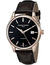 FREDERIQUE CONSTANT MEN'S INDEX AUTOMATIC 40MM BROWN ANALOG WATCH FC-303C5B4