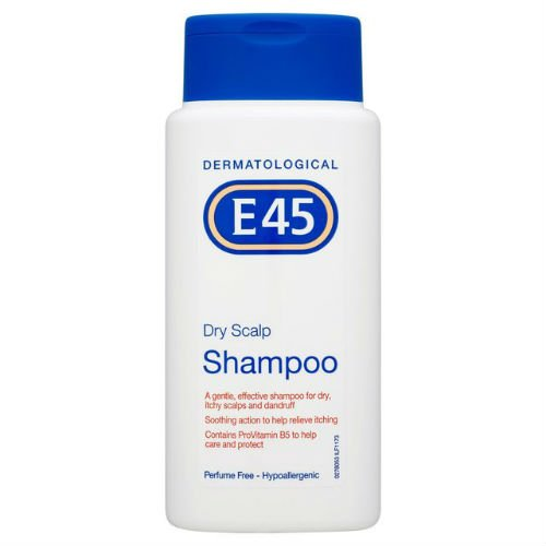E45trockene Kopfhaut Shampoo 200ml Fall von 6 (Entspannendes Bad Milch)