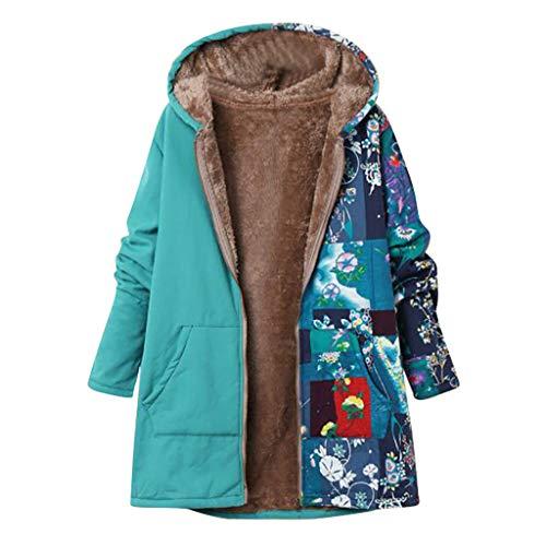 Momoxi Plüsch Damen Jacke Plus Size Warm Weich Print Weihnachtsjacke Geschenkidee Für Winter Winterjacke Westen t Shirt Herren Abendkleider Dessous Blumen Pullover Daunenjacke