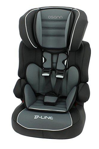 Osann e102-122-175 Kinderautositz BeLine SP Luxe Agora Storm, ECE Gruppe 1/2/3, 9 bis 36 kg