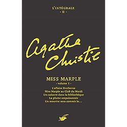 Intégrale Miss Marple - volume 1 (Les Intégrales du Masque)